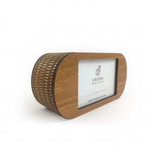木雕音樂盒-相框式(柚木)-3