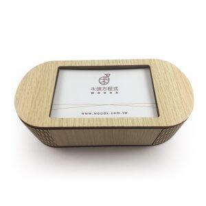 木雕音樂盒-相框式(白橡)-2