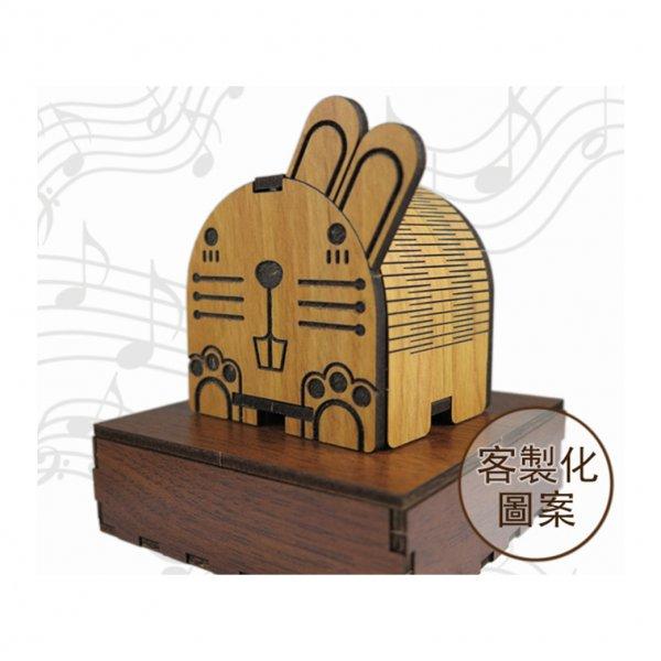 木雕旋轉音樂盒